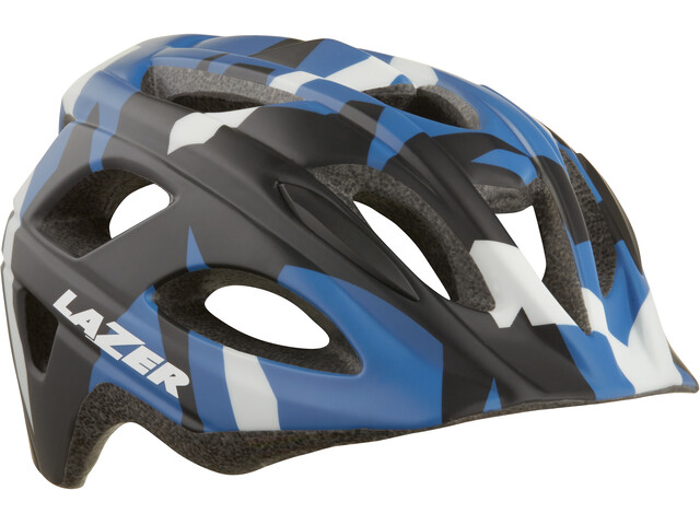 Lazer Nut'Z Helmet Juniors matte blue camo